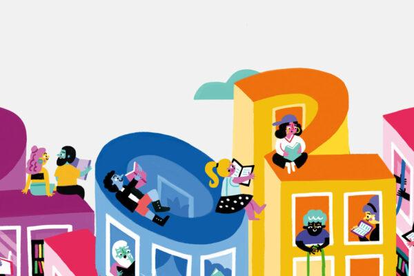 Main creative illustration for 2021's festival